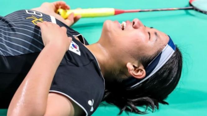 Tunggal putri Korea Selatan, An Se Young di Denmark Open 2021