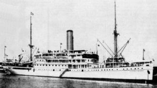 Kapal Van der Wijck yang tenggelam di perairan Brondong, Lamongan 1936