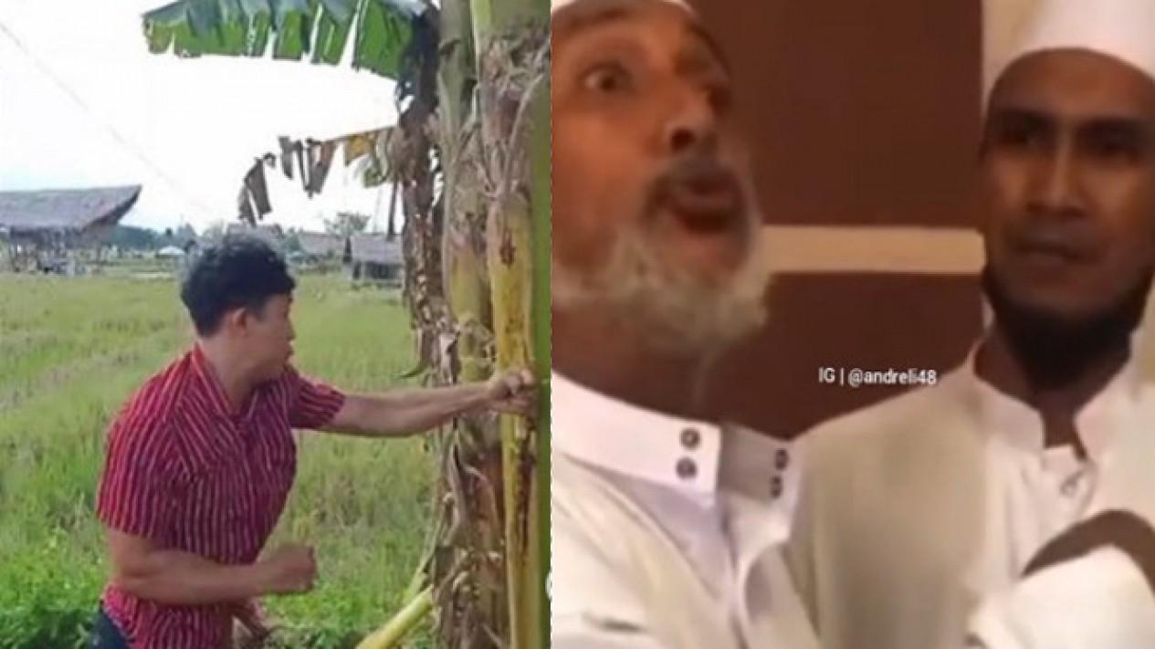 Viral Salam dari Binjai dan Habib Palsu (Instagram/viralsekali/andreli48)
