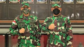 VIVA Militer: Pangdam XVII/Cenderawasih (kiri) dan Pangdam IV/Diponegoro