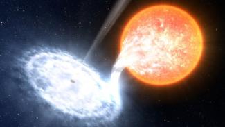 Planet di luar Galaksi Bima Sakti.