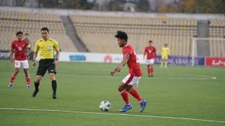 Bagus Kahfi di laga Timnas Indonesia U-23 vs Australia