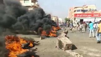Demo massa di Khartoum, Sudan usai kudeta