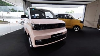 Wuling Hongguang Mini EV.