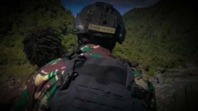 VIVA Militer: Prajurit Satgas Pamrahwan Yonif 315/GRDVIVA Militer: Prajurit Satg