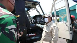 VIVA Militer: Letjen TNI (Purn.) Prabowo Subianto datangi Skadron II/Serbu Puspe