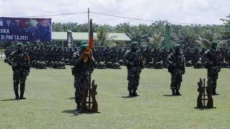 VIVA Militer: Satgas Pamtas RI-PNG Yonif 126/Kala Cakti