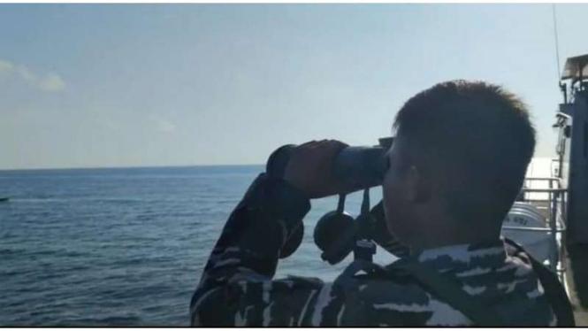 VIVA Militer: Prajurit TNI AL terlibat pencarian ABK KM Liberty 1 di Selat Bali