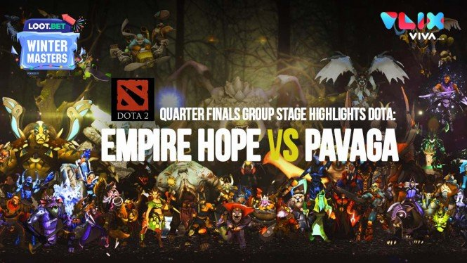 DOTA UQF Highlights: Empire Hope vs Pavaga