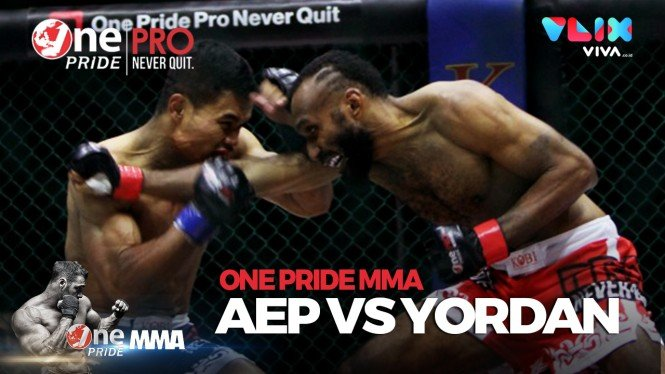 One Pride MMA Fight Night 29 Pertarungan Keras Aep Vs Yordan