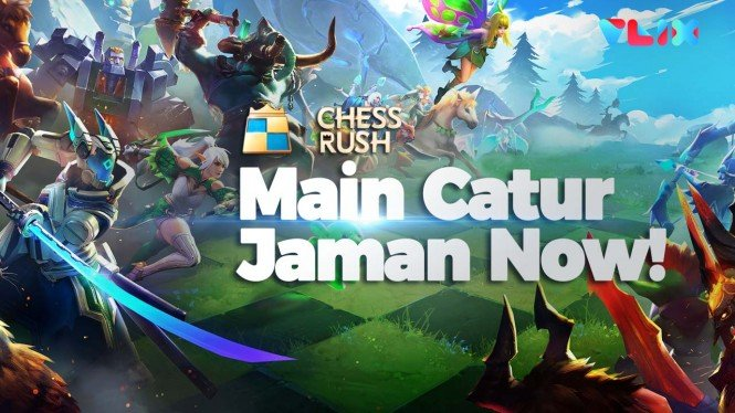 Game Auto Battle Chess Rush Bakal Ada Turnamennya Pekan Ini!