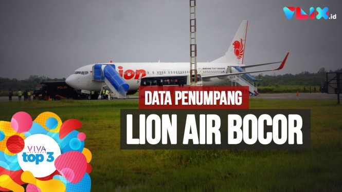 VIVA Top3: Data Penumpang Lion Air Bocor, Menpora Mundur