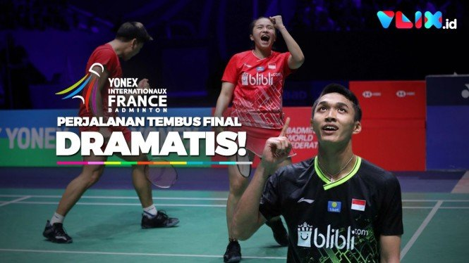 Tembus Final Dramatis, Indonesia Bikin Geger French Open