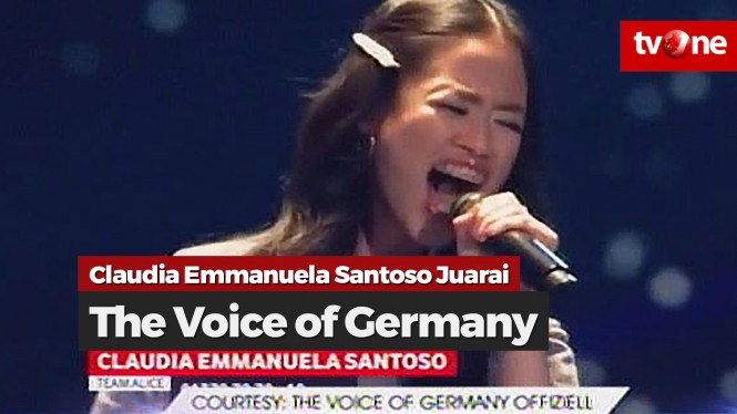 Claudia Emmanuela Santoso Juara The Voice of Germany 2019