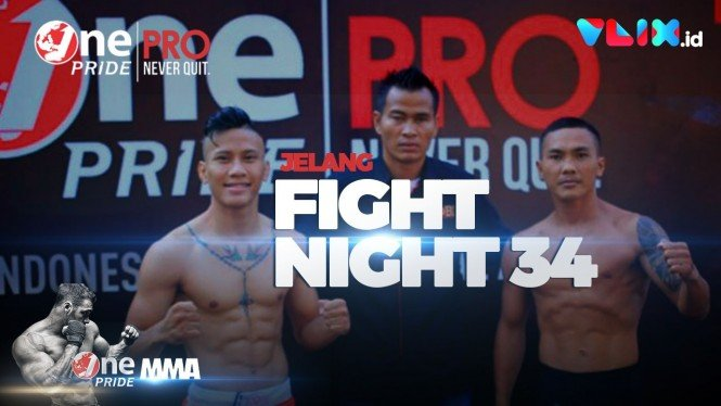 Suasana Berbeda di Timbang Badan Fight Night 34 One Pride