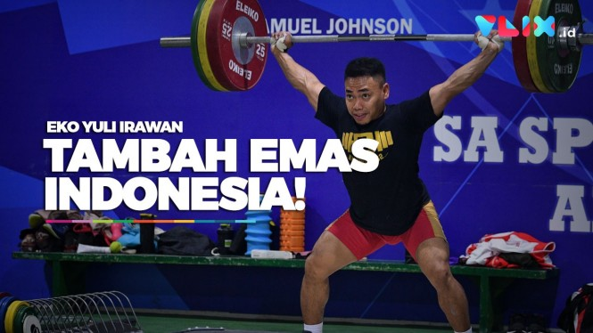 Eko Yuli Tambah Emas Indonesia di SEA Games 2019