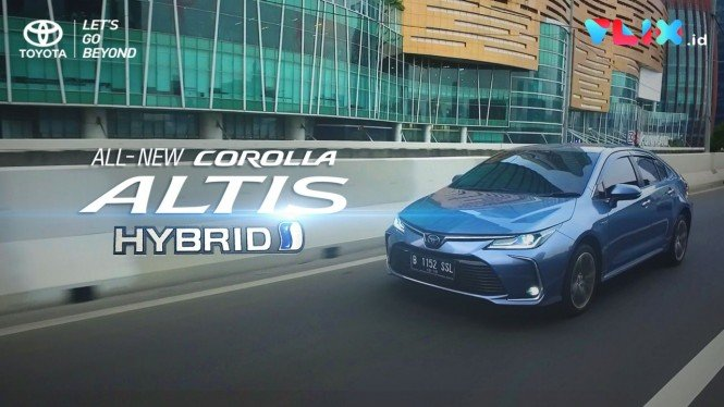 Nyobain Fitur Canggih All New Corolla Altis Hybrid