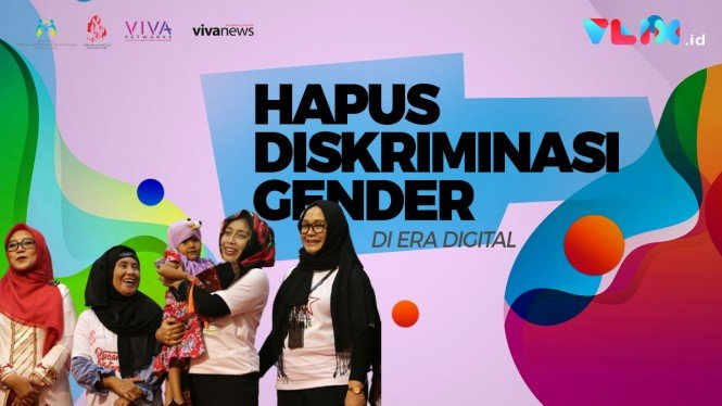 Hapus Diskriminasi Gender di Era Digital