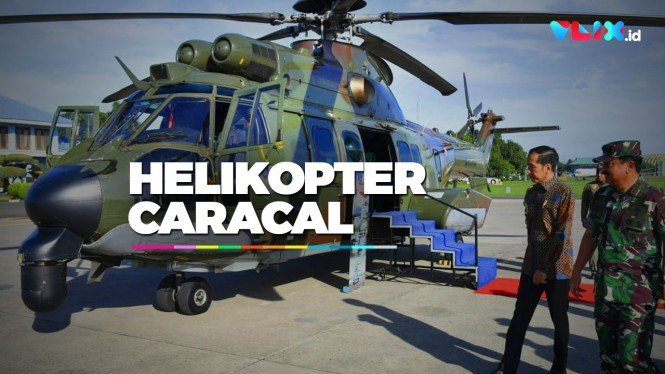 Penampakan Helikopter Caracal, Helikopter VVIP Indonesia