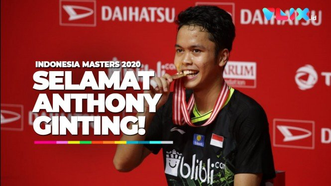 Anthony Ginting Juara, Fans Histeris!