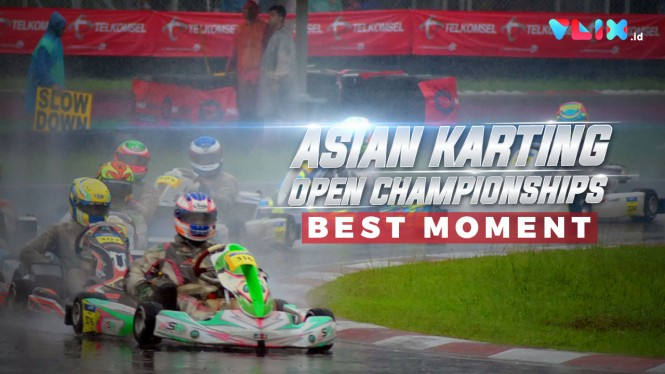 BEST MOMENT! Asian Karting Open Championship 2020